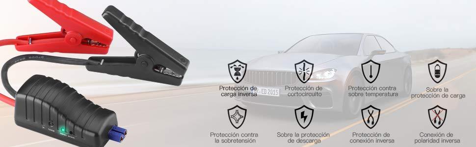 Tacklife T6 mecanismos de Seguridad